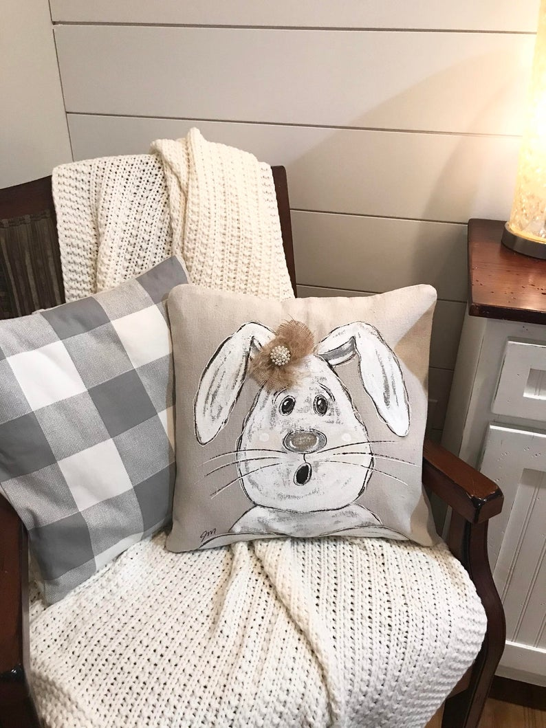 17 Charming Easter Pillows & Covers Youre Going To Adore