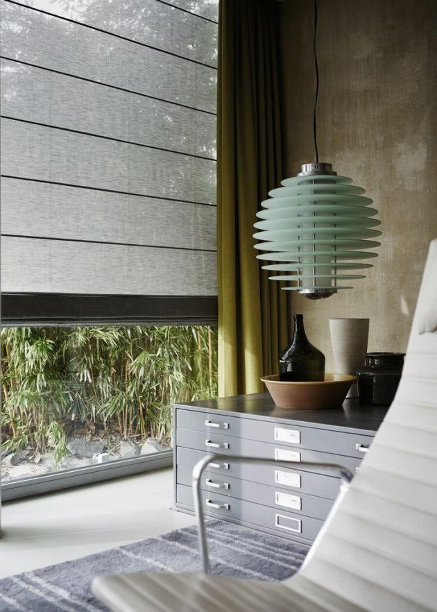 Environments Decorated with Blinds