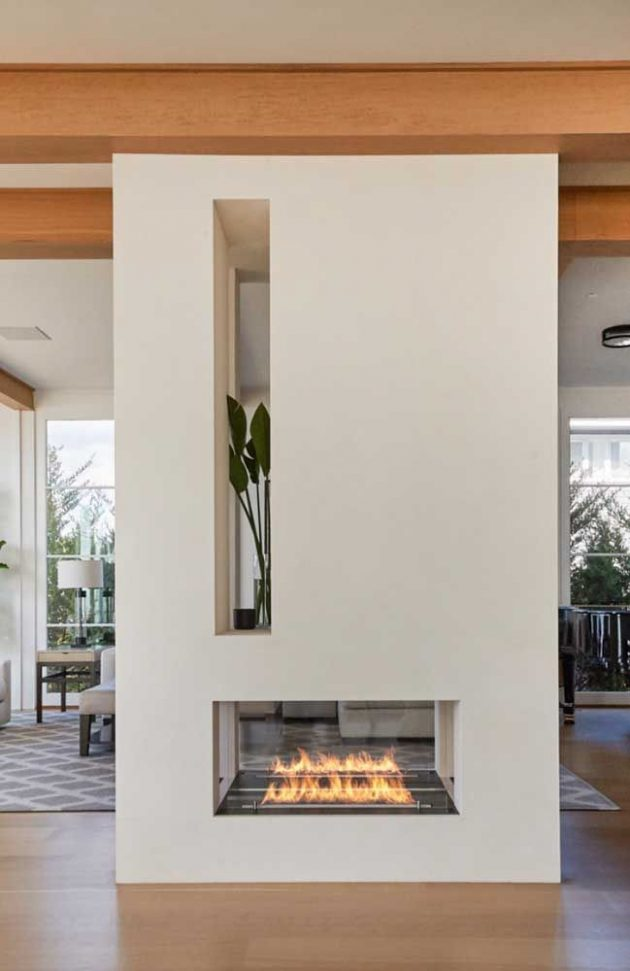 Ecological Fireplace Tips + Inspirations