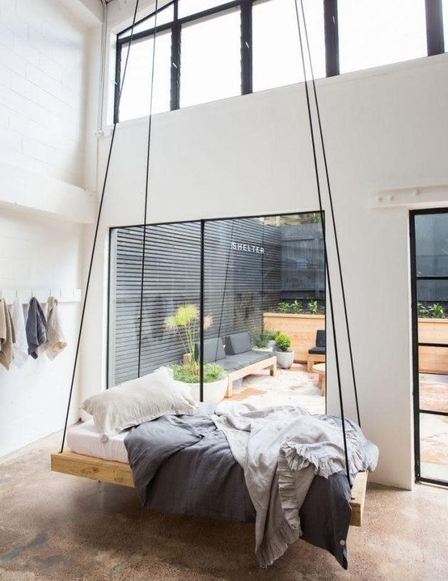 Suspended Beds in Modern Designs to Inspire You