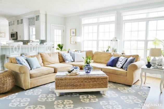 Living Room Inspiration For This Spring