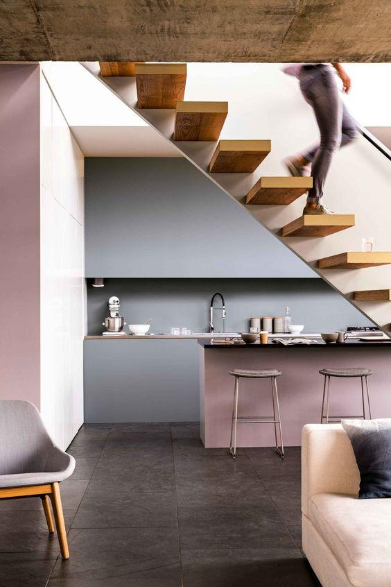 9 Pink Decorated Kitchens