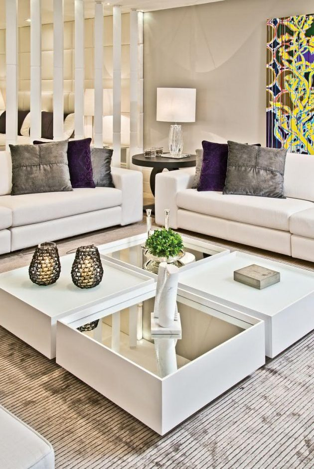 Mirrored Coffee Tables