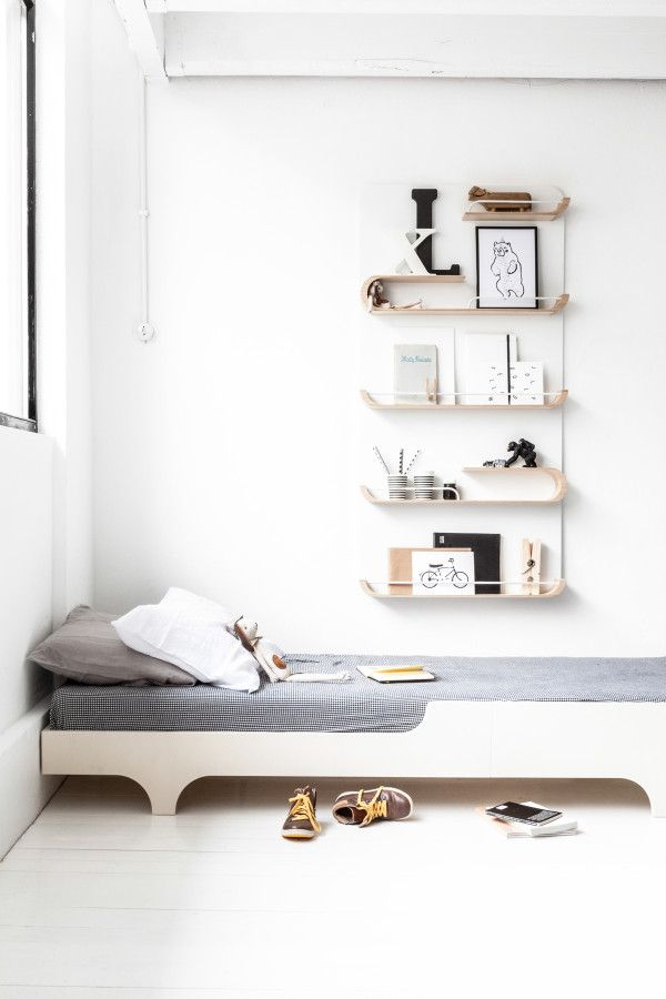 Montessori Bed: Inspirations to Insert the Furniture in the Decoration
