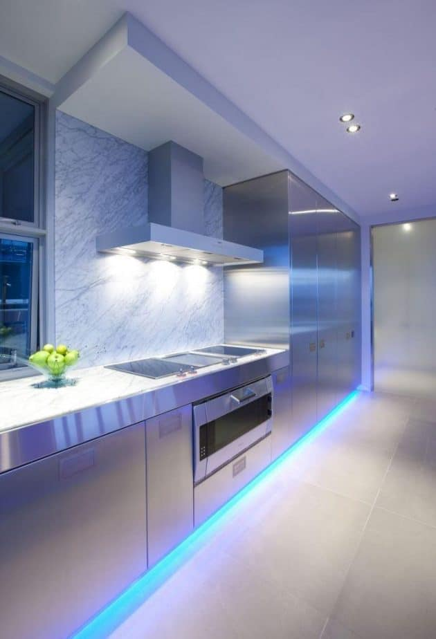 Environments Decorated with LEDs