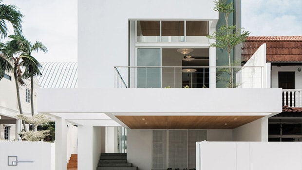 Assembled House by Park + Associates in Singapore