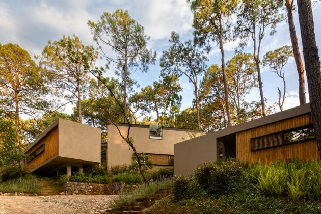 Five Houses by Weber Arquitectos in Valle de Bravo, Mexico