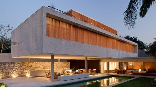 House 6 by Studio MK27 in Sao Paulo, Brazil