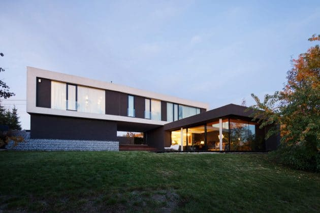 House with the Hole by RS + Robert Skitek in Mikolow, Poland