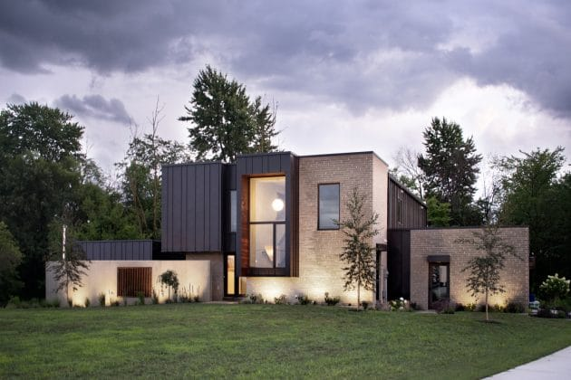 Micham House by The Collaborative in Ohio, USA