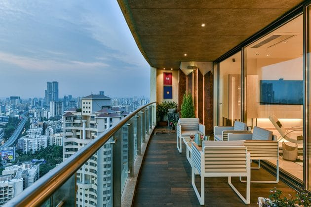 Pinnacle House by Aum Architects in Mumbai, India