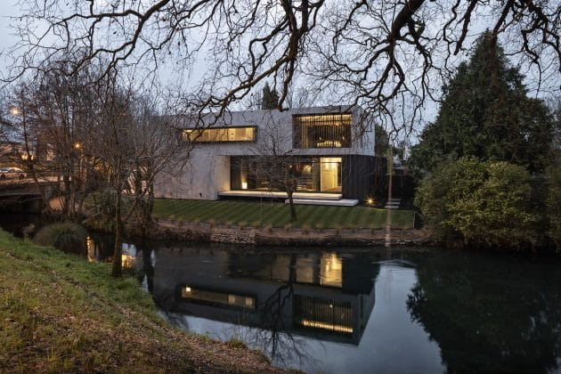 Riverside House by Three Sixty Architecture in Christchurch, New Zealand