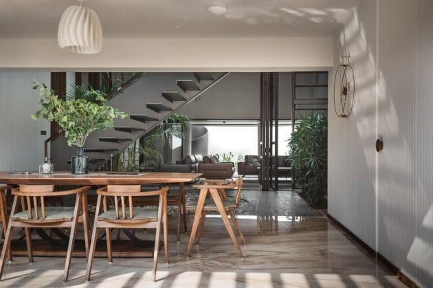 Sarpanch House by Neogenesis+Studi0261 in Surat, India