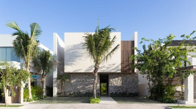 Venados 22 House by estudio AM Arquitectos in Cancun, Mexico