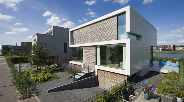 Villa S2 by MARC Architects in Amsterdam, The Netherlands