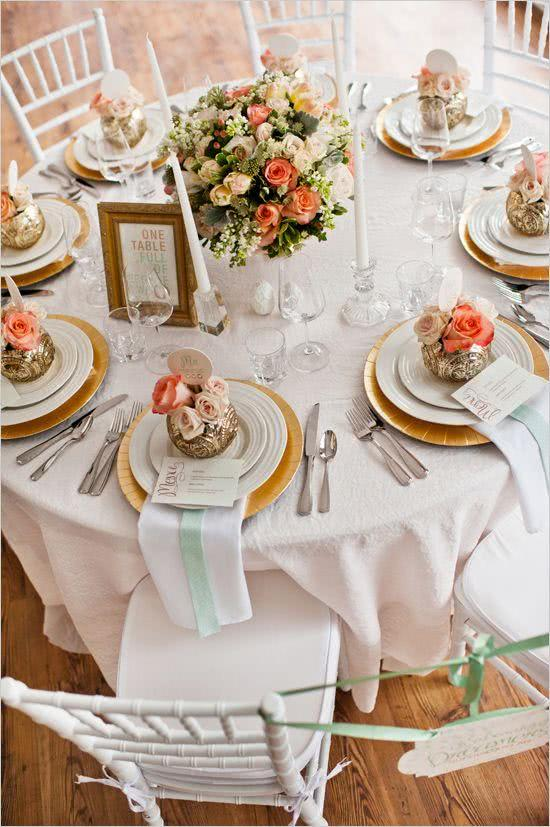 9 Inspired and Decorated Wedding Tables with Various Styles of Decor
