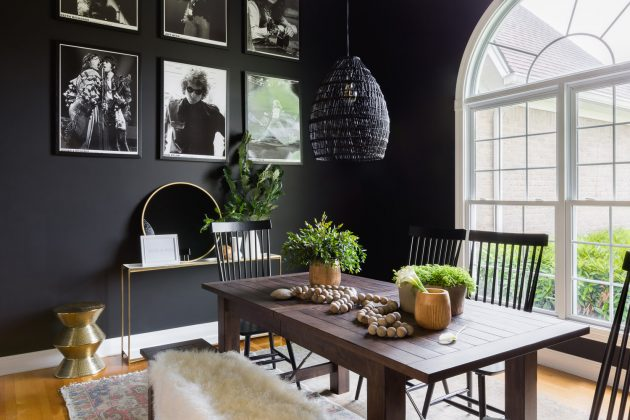 Putting a Dark Shade in the Dining Room? Yes or a No?