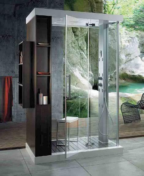 8 Different Models of Bathing Cabins to Use in Your Bathroom