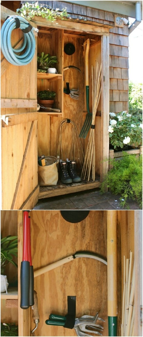 15 Awesome DIY Garden Storage & Organization Hacks You Can Craft