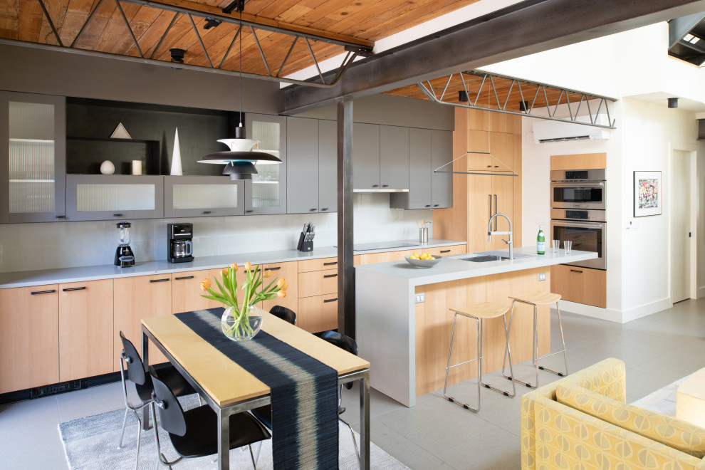 16 Eye Catching Industrial Kitchen Designs You Will Love