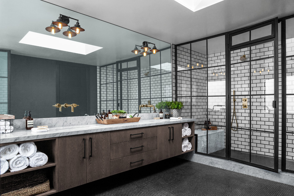 16 Superb Industrial Bathroom Designs That Will Catch You Off Guard