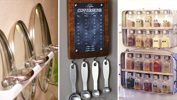 17 Clever DIY Kitchen Organization Ideas You Finally Have Time To Craft