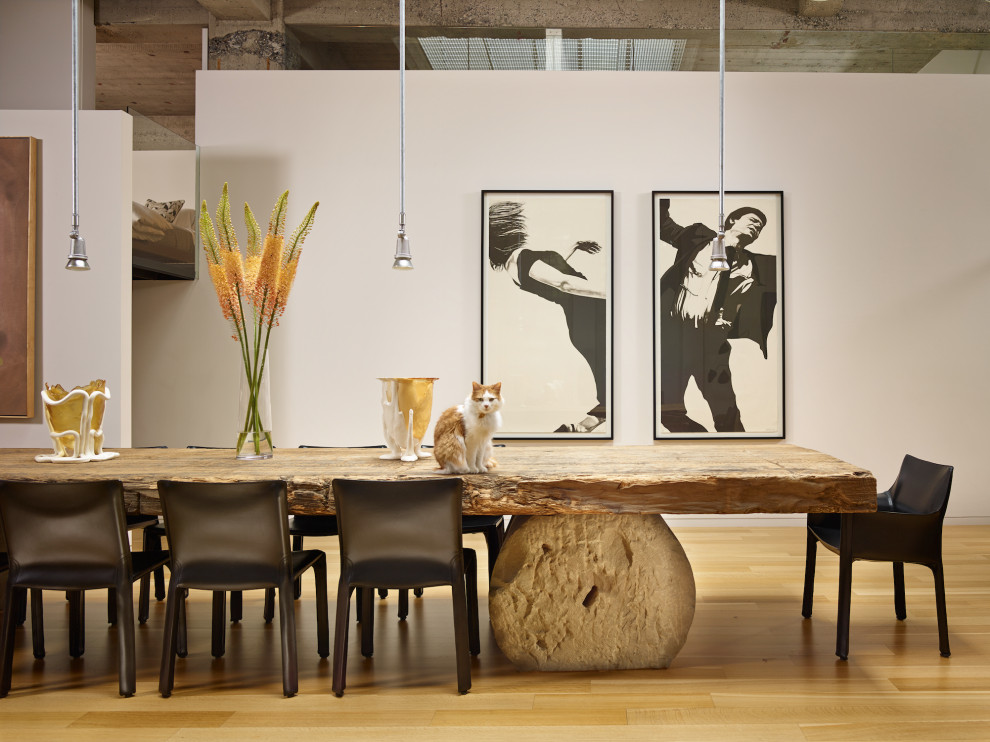 17 Elegant Industrial Dining Room Interiors You Must See