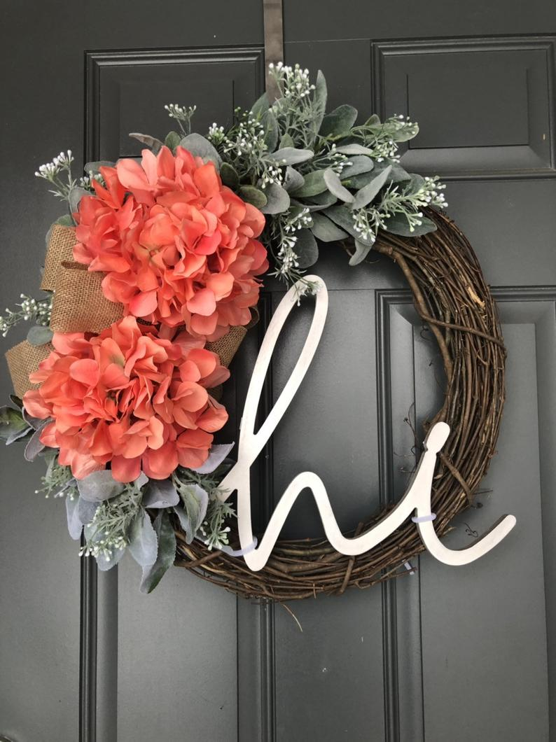 18 Beautiful Spring Wreath Ideas For Natural Front Door Decor