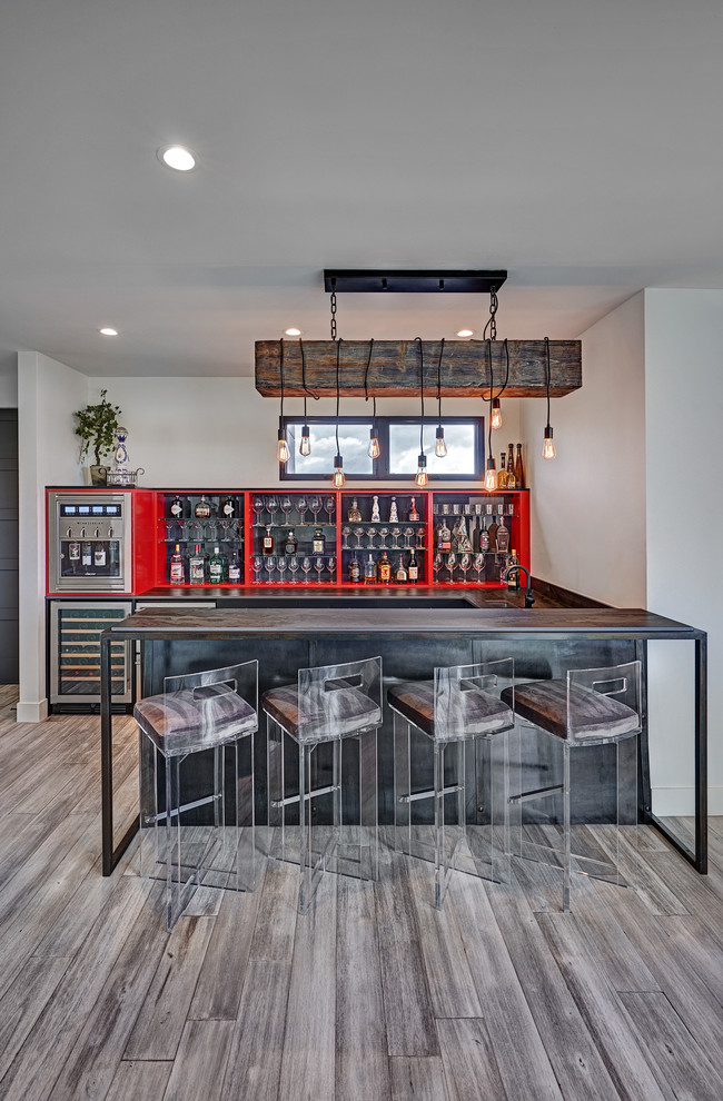 18 Majestic Industrial Home Bar Ideas Youre Going To Enjoy