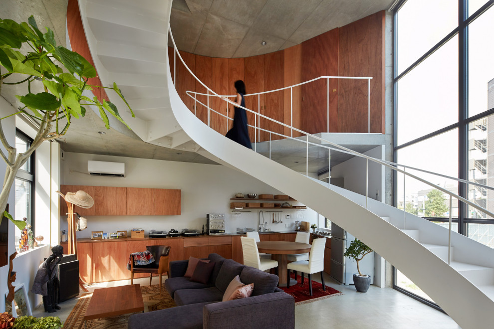 18 Uplifting Industrial Staircase Designs That Will Transform Your Loft