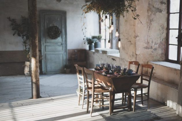 Decor Trending for a Wabi Sabi Dining Room