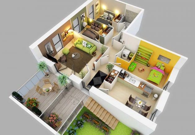interior design bedroom modern style house plans