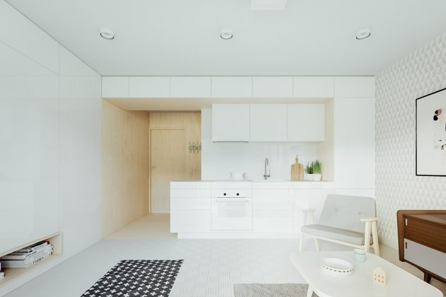 Useful Storage for a Minimalist Kitchen