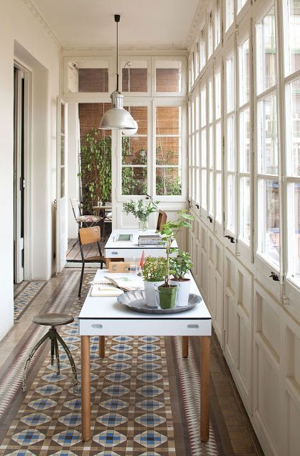 How Bout an Office in the Veranda