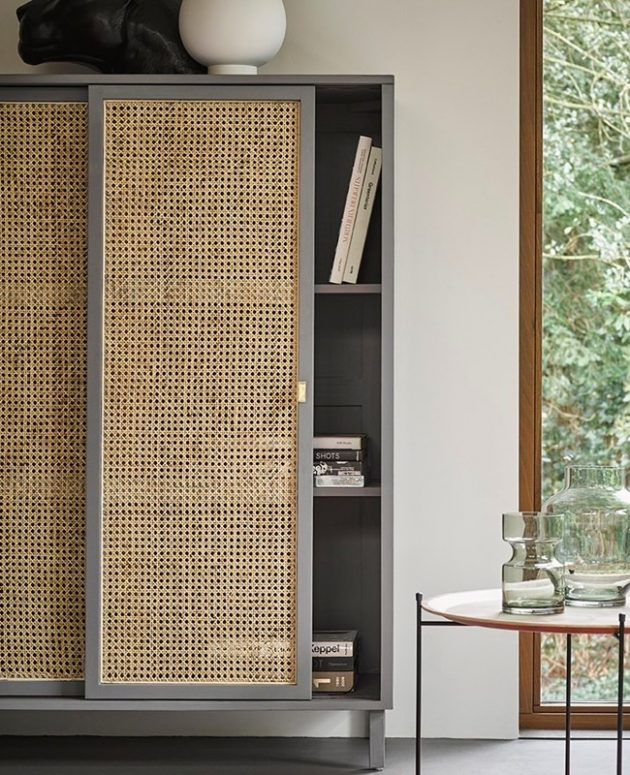 6 Wonderful Cane Cupboards for Your Home