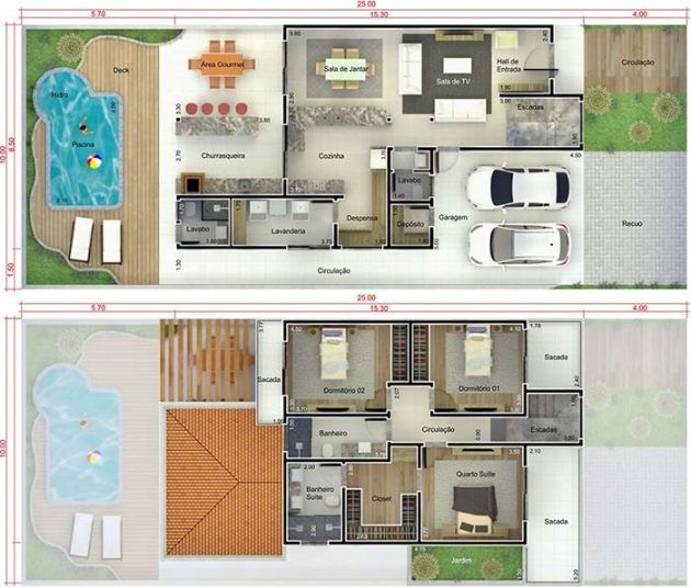 Incredible Modern Design Ideas of House Plans With 3 Bedrooms