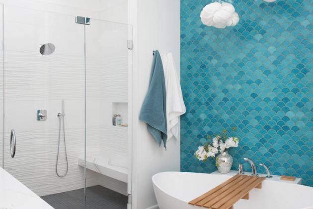 Tortoiseshell Tiles - Dose of Originality in Your Bath