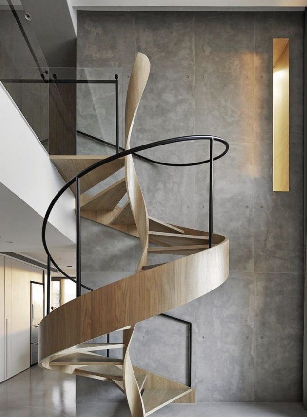 Discover 8 Modern Ideas of Spiral Staircases to Inspire You