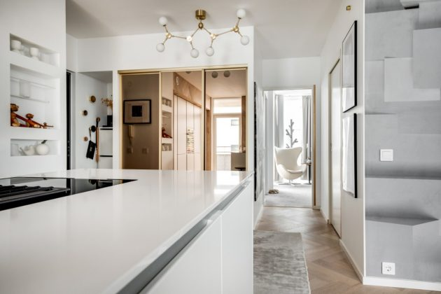 Nordic White Kitchen in the Dining Room You Never Knew Would Fit Perfectly in Your Home