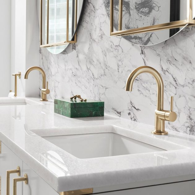 Elegant & Soft Bathroom Atmosphere to Fall in Love at First Sight