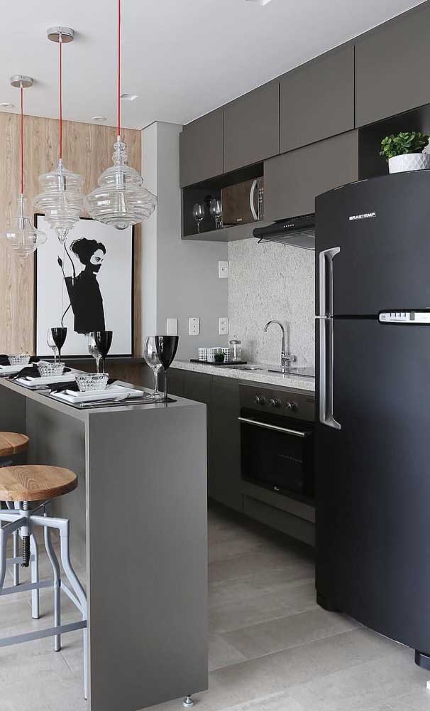 8 Fantastic Black Refrigerators You Will Definitely Want for Your Unique Kitchen