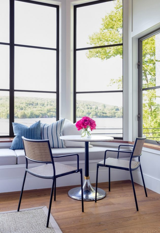Pure & Impressive Lakeside Home in Connecticut
