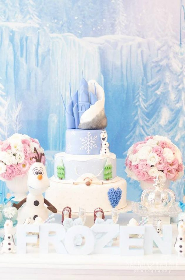 9 Amazing Ideas to Organize Your Childrens Frozen Party Decoration!