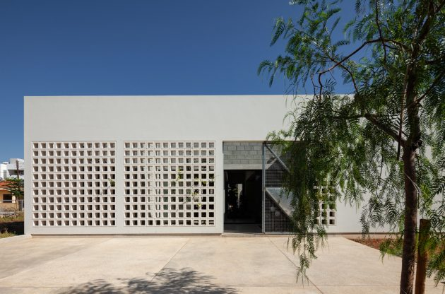 A House with Four Gardens by Draftworks Architects in Nicosia, Cyprus