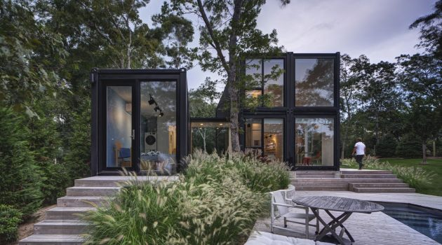 Amagansett Modular House by MB Architecture in Amagansett, New York