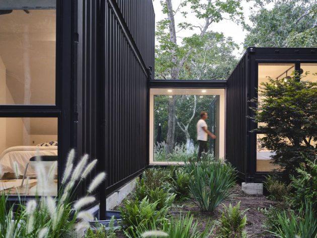 Amagansett Modular House by MB Architecture in Amagansett, New York
