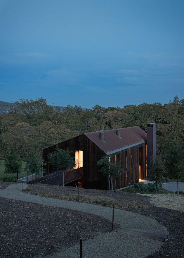 Big Barn by Faulkner Architects in Glen Ellen, California