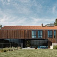 Big Barn by Faulkner Architects in Glen Ellen, California