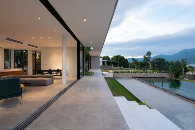 Cam Hai House by Idee Architects in Cam Hai Dong, Vietnam