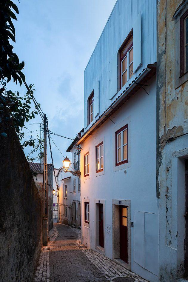 Casa Matias Alves by Joana Marcelino Studio in Leiria, Portugal